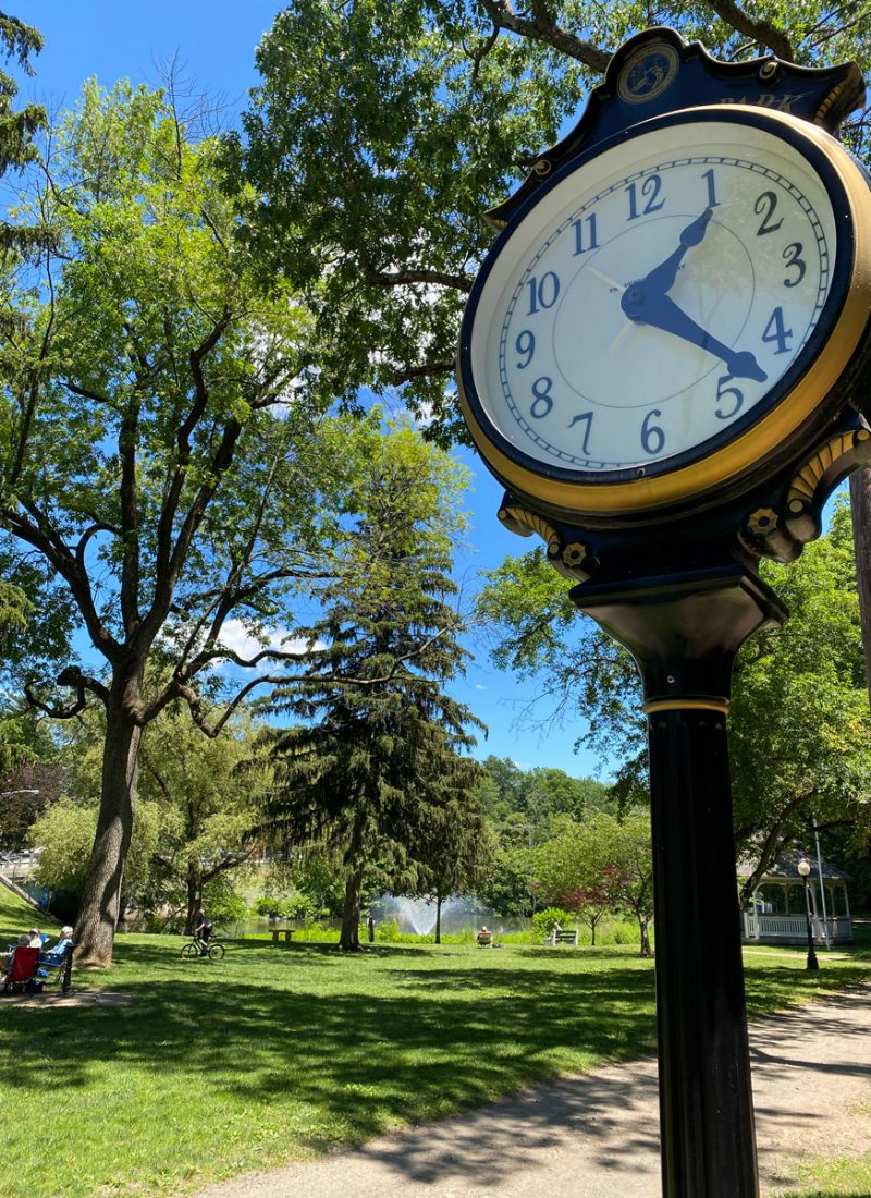 Play and relax at Grace Lord Park in Boonton